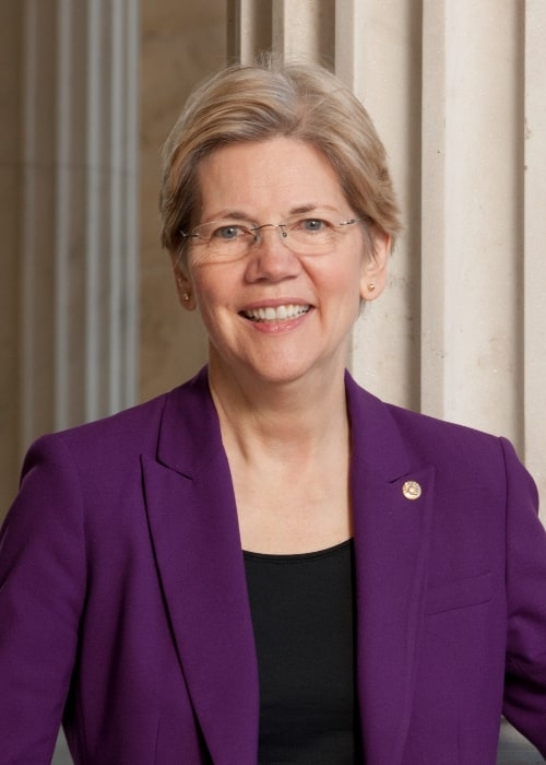 Official 113th Congressional Portrait of Democratic Senator, Elizabeth Warren of Massachusetts