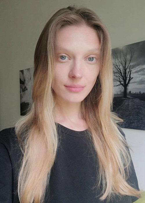 Olga Sherer in a selfie as seen in August 2019