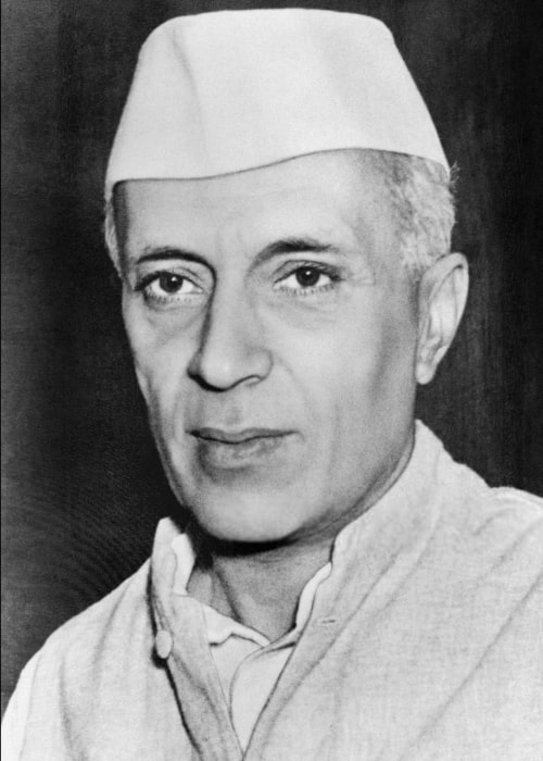 Pandit Jawaharlal Nehru as seen in a picture taken in 1947