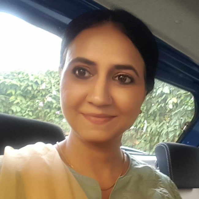 Parveen Kaur in an Instagram selfie as seen in December 2019