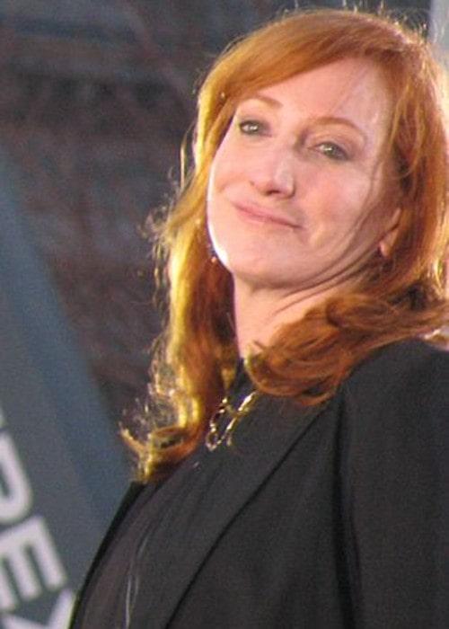 Patti Scialfa as seen in November 2008