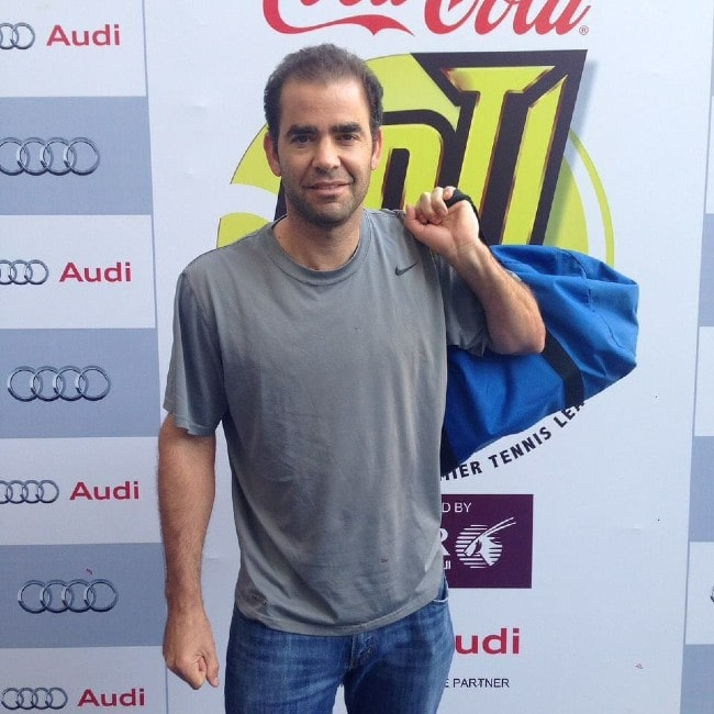 Pete Sampras as seen in August 2015