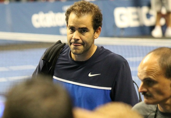 Pete Sampras as seen in September 2011
