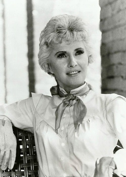 Photo of Barbara Stanwyck as Victoria Barkley from the television program The Big Valley