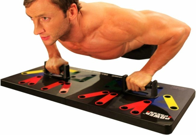 Power Press Push Up Board System