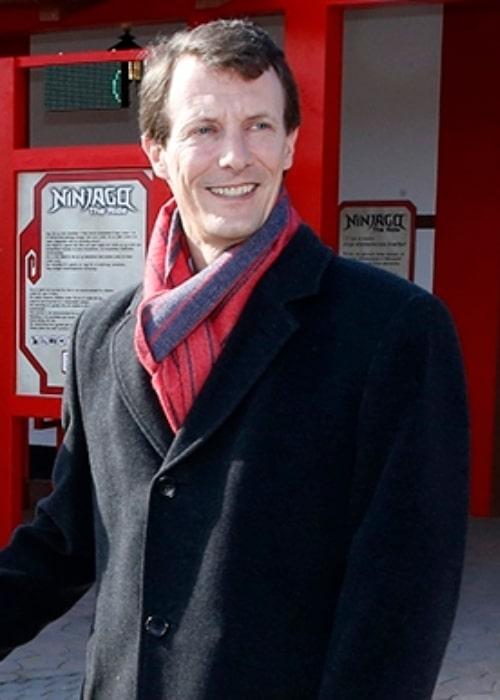 Prince Joachim of Denmark as seen at the opening of the area Ninjago World in the amusement park Legoland Billund Resort in Denmark in March 2016