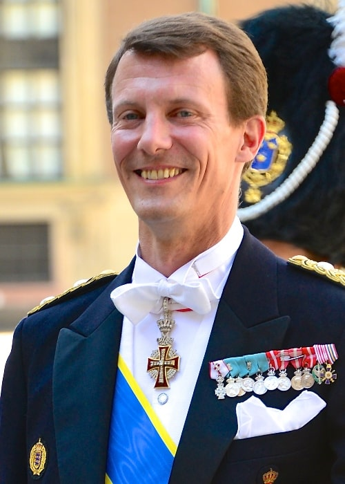 Prince Joachim of Denmark as seen at the wedding between Princess Madeleine and Christopher O'Neill on June 8, 2013