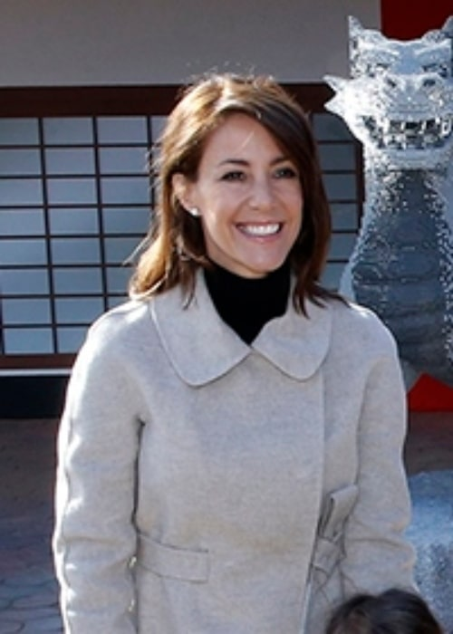 Princess Marie of Denmark as seen at the opening of the area Ninjago World in the amusement park Legoland Billund Resort in Denmark in March 2016