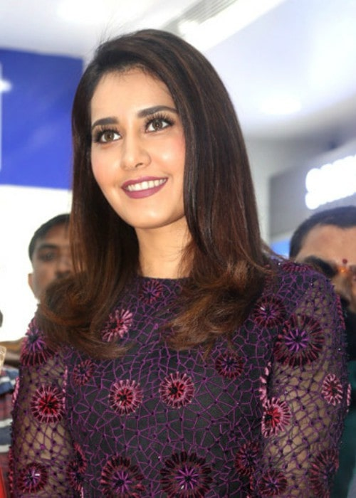 Raashi Khanna at the Big C launch in September 2014