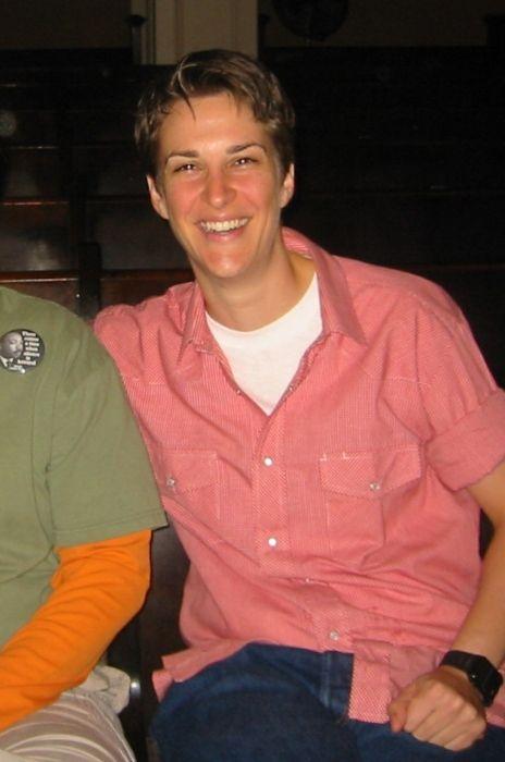 Rachel Maddow as seen in 2005