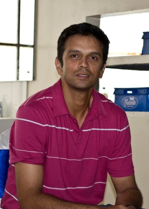 Rahul Dravid as seen in a picture taken in August 29, 2009