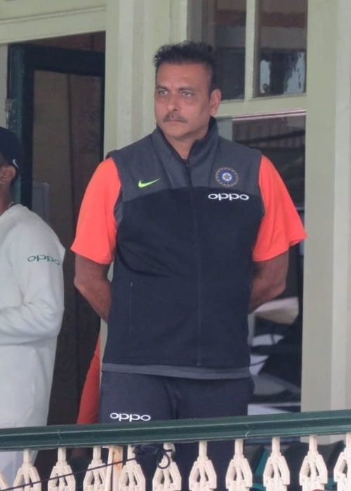 Ravi Shastri as seen in a picture taken in December 2018