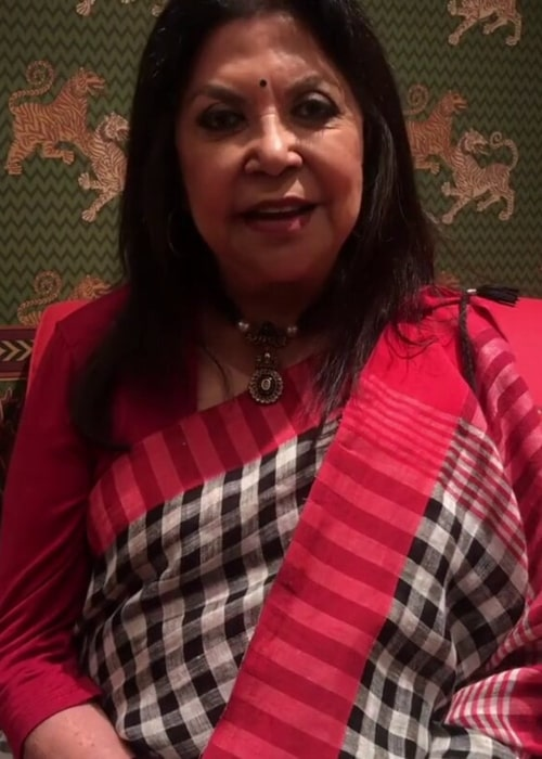 Ritu Kumar as seen in a screenshot taken from an introduction of her #RituKumarHome video that was posted to her Instagram on July 2019