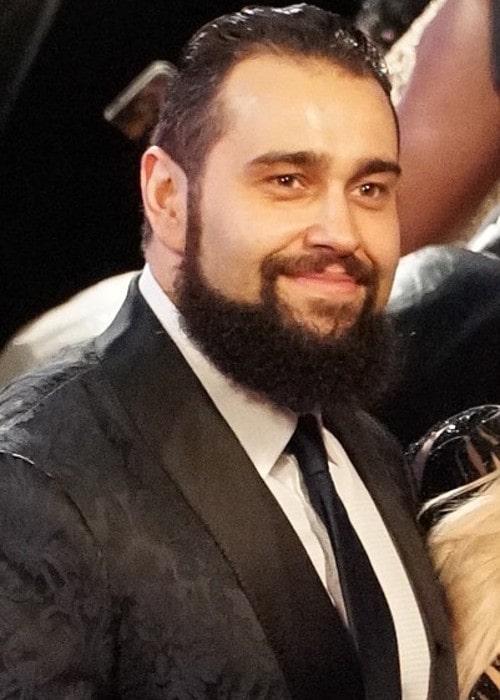 Rusev as seen in April 2018