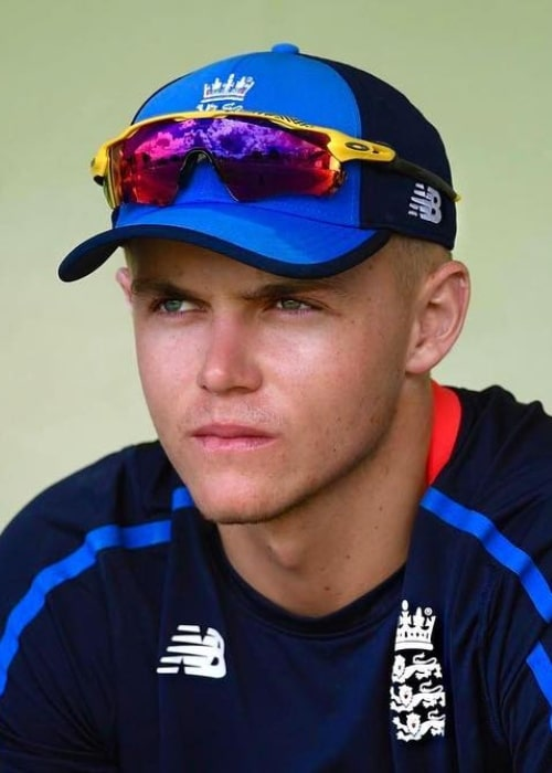 Sam Curran as seen in a picture taken in Barbados in January 2019