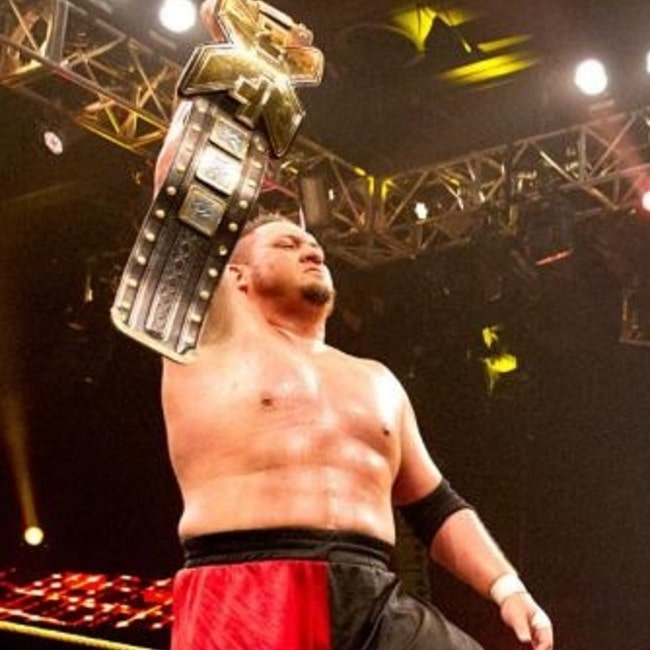 Samoa Joe as seen in December 2016