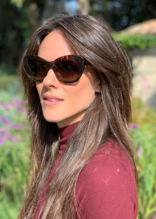Sarah Butler as seen in a picture taken in Tuscany, Italy in October 2019