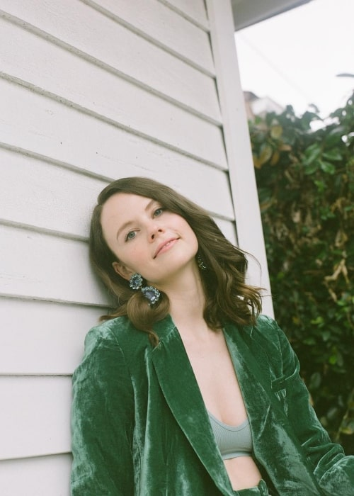 Sarah Ramos in a picture taken in January 2019