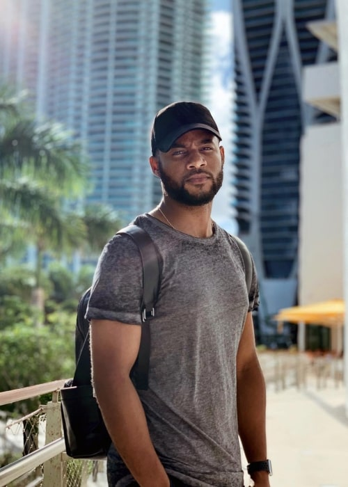 Shai Hope as seen in a picture taken in Miami, Florida in March 2019