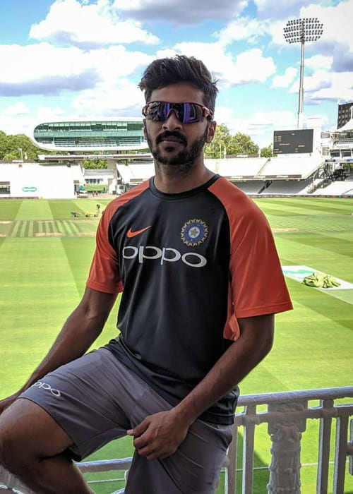Shardul Thakur as seen in August 2018