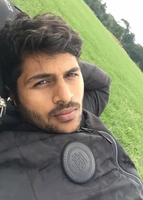 Shardul Thakur in a selfie in October 2016