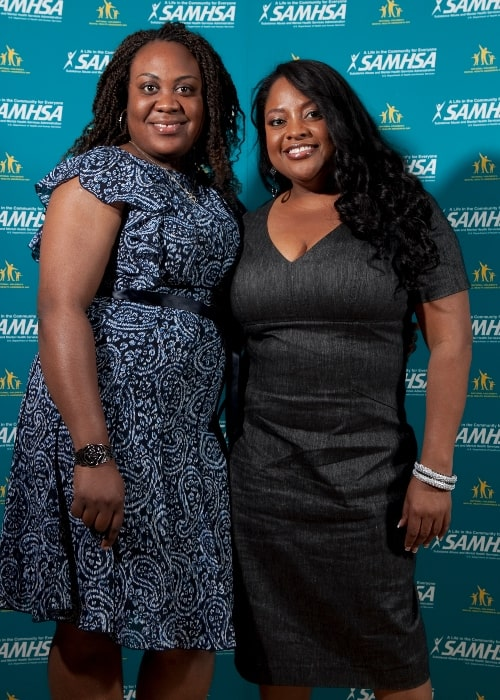 Sherri Shepherd (Right) as seen while posing for the camera at the National Children's Mental Health Awareness Day celebration in Washington, D.C., held on May 6, 2010