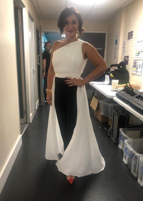 Shirley Ballas as seen in a picture taken on set of Strictly Come Dancing in December 2019