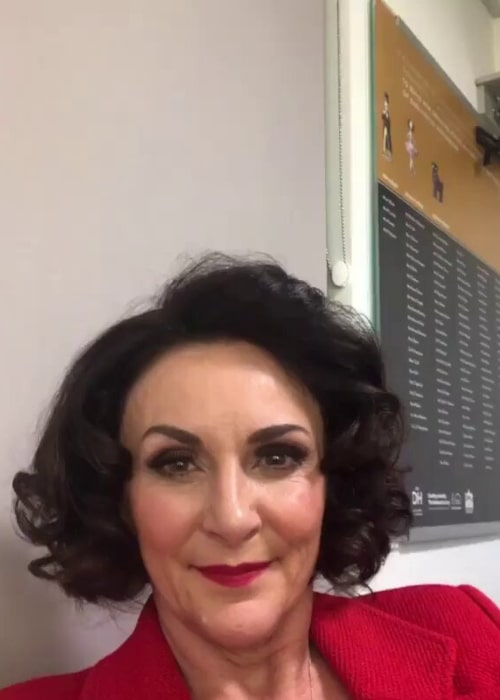 Shirley Ballas as seen in a screenshot taken from a video that was uploaded to her Instagram on November 24, 2019