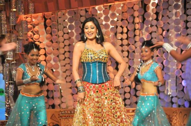 Shweta Tiwari from The NDTV Greenathon as seen in May 2012