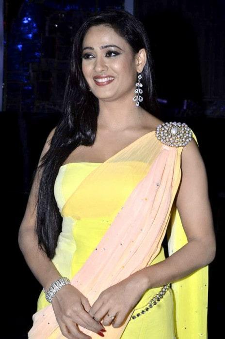 Shweta Tiwari on the set of Jhalak Dikhhla Jaa Season 6 as seen in March 2014