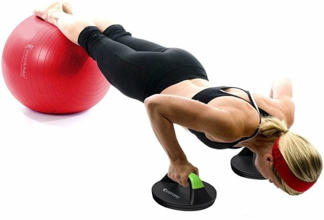 SmarterLife Push Up Bars Workout