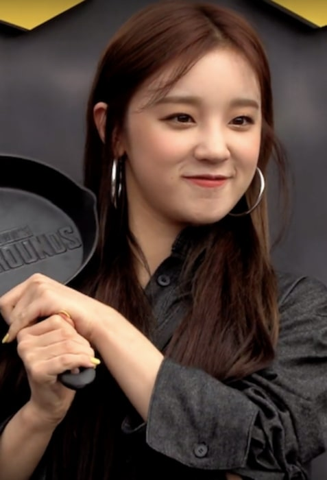 Song Yuqi as seen at The PUBG Nations Cup 2019 in Seoul on August 9, 2019