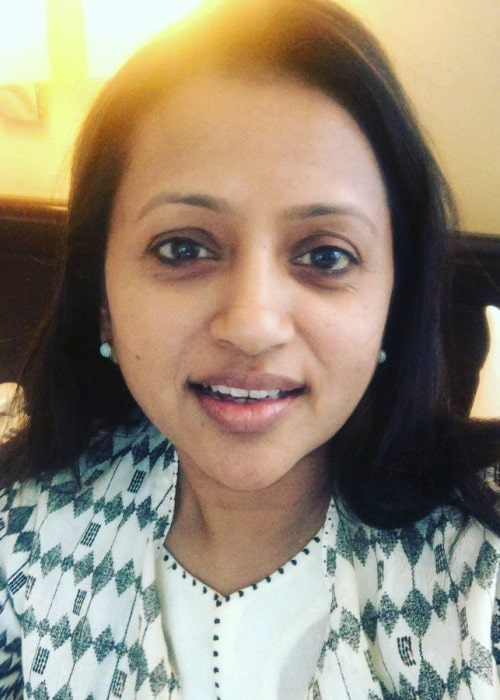 Suma Kanakala in an Instagram selfie as seen in May 2019