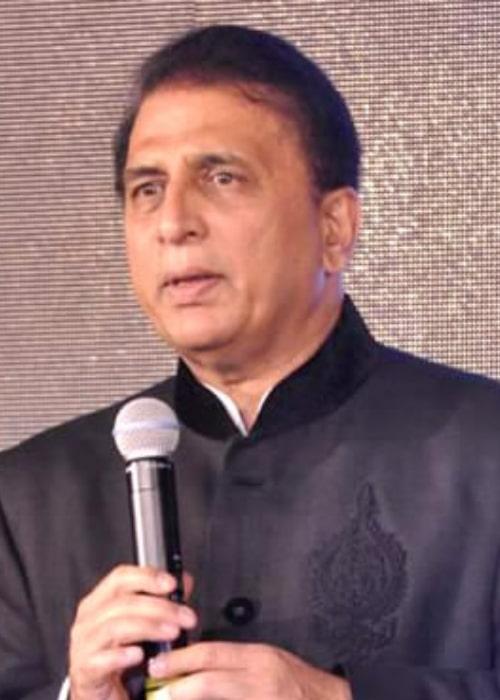Sunil Gavaskar as seen in a picture taken on November 3, 2012