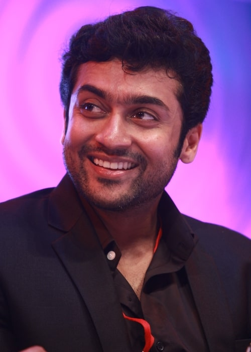 Suriya as seen in a picture taken at an event on November 28, 2011