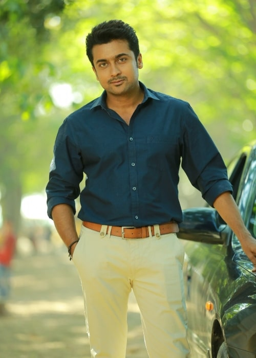 Suriya as seen in a picture taken in the past