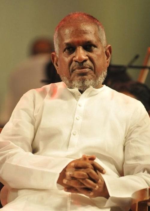 The maestro Ilaiyaraaja as seen in 2018