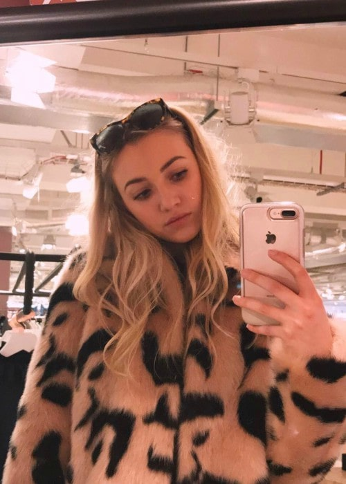 Tilly Keeper in a selfie in March 2017
