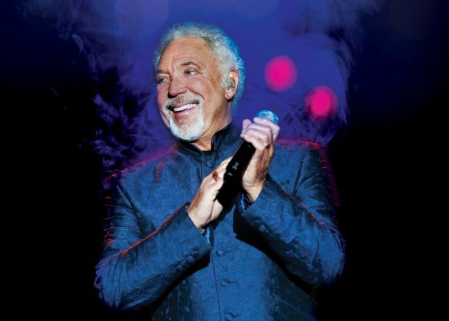 Tom Jones as seen in July 2012