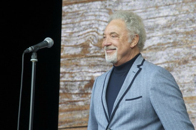 Tom Jones as seen in June 2013