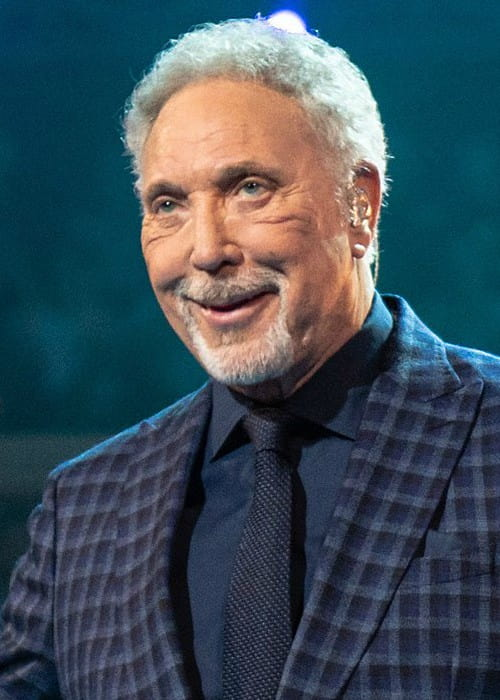 Tom Jones during an event as seen in April 2018
