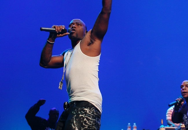 Treach during a performance as seen in August 2009