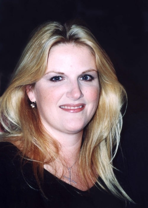 Trisha Yearwood as seen in a picture taken in Washington, D.C. on March 13, 2002