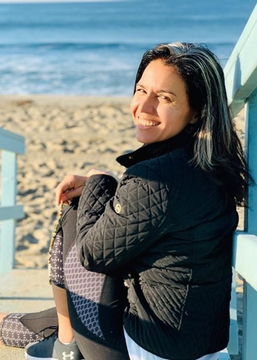 Tulsi Gabbard as seen in a picture taken while on the beach in November 2019