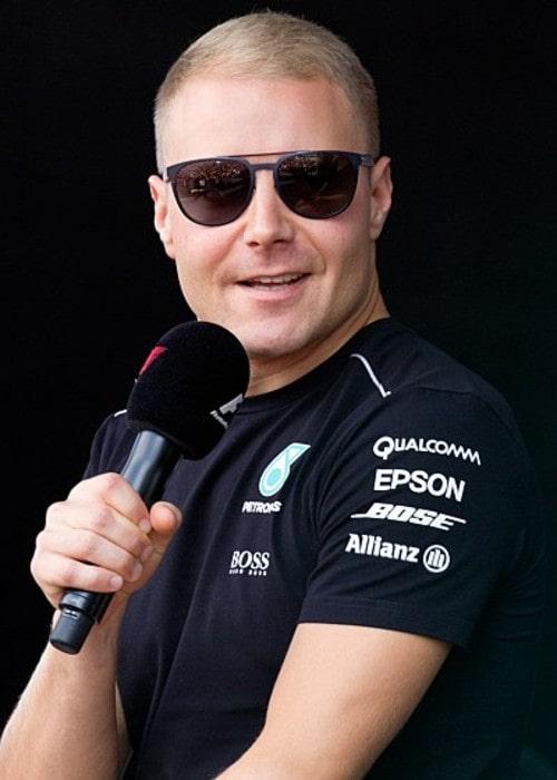 Valtteri Bottas as seen in September 2017