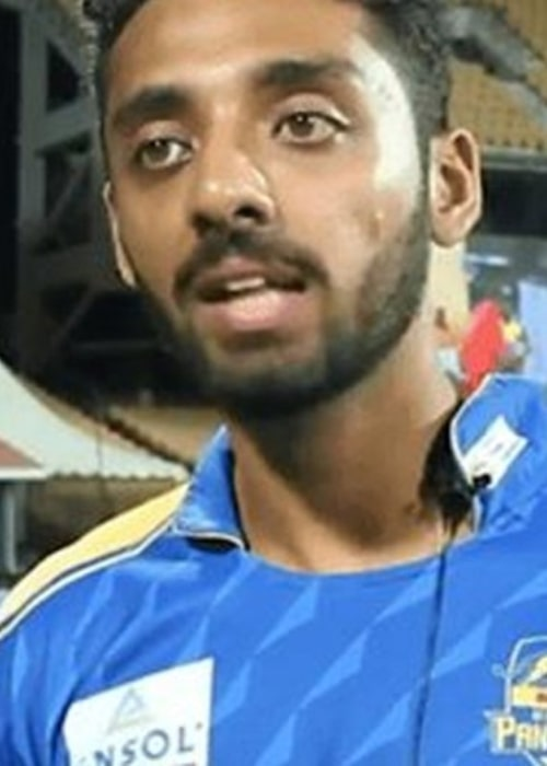 Varun Chakravarthy as seen in a picture taken in the past