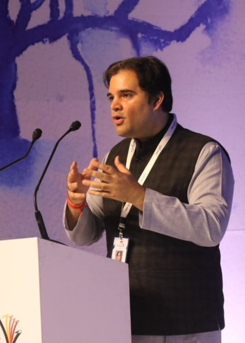 Varun Gandhi as seen in a picture taken at the Times Litfest in Mumbai in December 2018