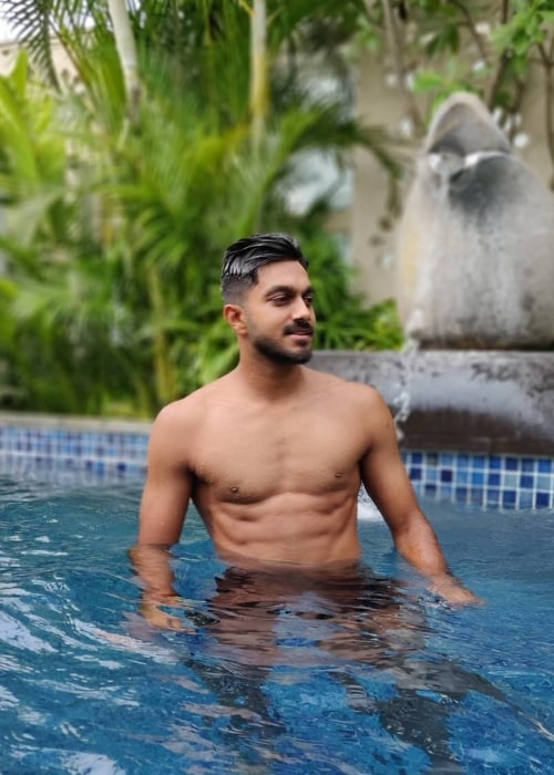 Vijay Shankar as seen in a picture taken at the The Ritz-Carlton, Bangalore in July 2018