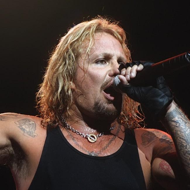 Vince Neil as seen in July 2007
