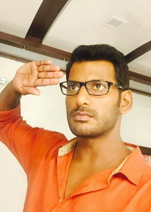 Vishal Krishna Reddy as seen in August 2015